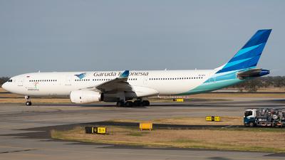 PK-GPV - Airbus A330-343 - Garuda Indonesia