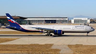 A picture of VQBQD - Boeing 7773M0(ER) - Aeroflot - © yiran