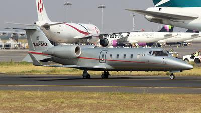 XA-AIG - Bombardier Learjet 60 - Private