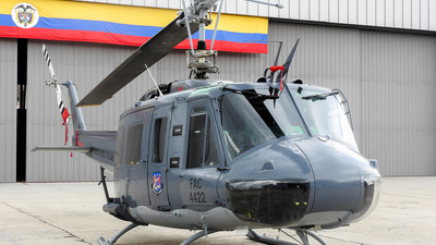 FAC4422 - Bell UH-1H Huey II - Colombia - Air Force