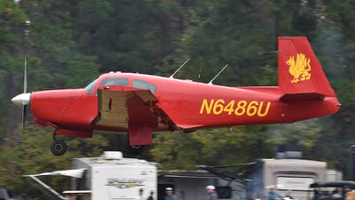N6486U - Mooney M20C - Private