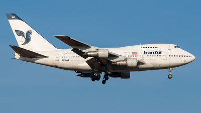 EP-IAB - Boeing 747SP-86 - Iran Air