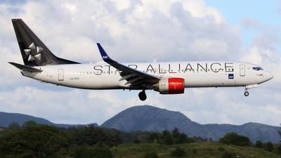 A picture of LNRRE - Boeing 73785P - SAS - © R.Rimestad