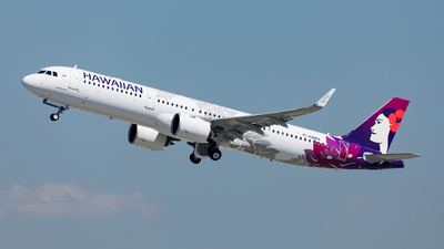 N218HA - Airbus A321-271N - Hawaiian Airlines