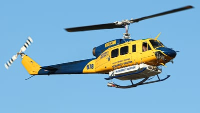 N1073W - Bell 214B-1 - McDermott Aviation