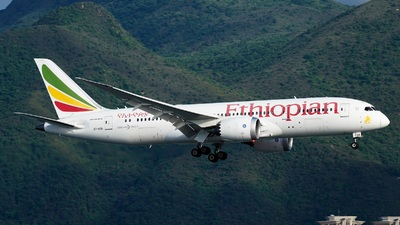 A picture of ETAOU - Boeing 7878 Dreamliner - Ethiopian Airlines - © Adrian Fong