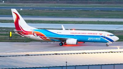 A picture of B2676 - Boeing 73784P(BCF) - Tianjin Air Cargo - © Sebastian Shen
