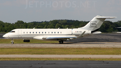 OE-IGG - Bombardier BD-700-1A10 Global Express XRS - Glock Aviation