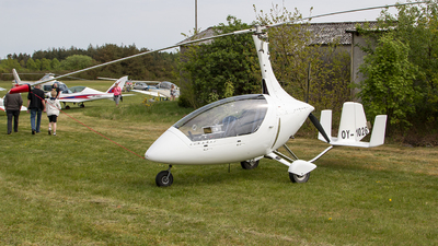 OY-1026 - AutoGyro Europe Calidus - Private