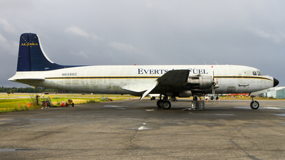 N6586C - Douglas DC-6B - Everts Air Fuel