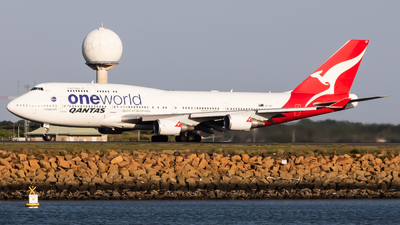 VH-OEF - Boeing 747-438ER - Qantas