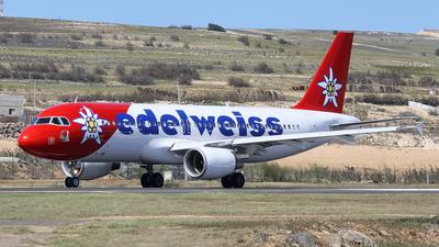 HB-IJV - Airbus A320-214 - Edelweiss Air