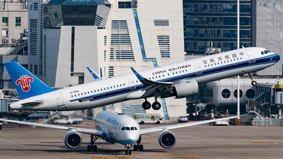 A picture of B306L - Airbus A321271N - China Southern Airlines - © AndySpotter
