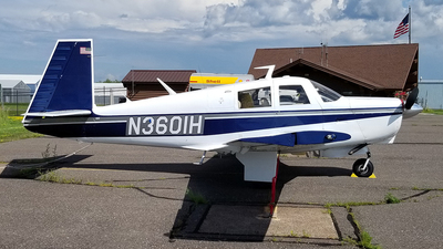 N3601H - Mooney M20C - Private