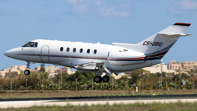 CS-DRU - Raytheon Hawker 800XP - NetJets Europe