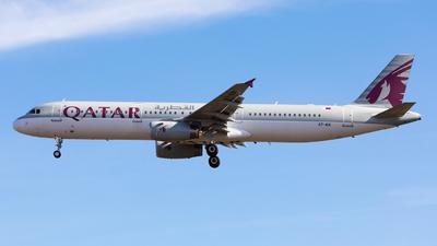 A7-AIA - Airbus A321-231 - Qatar Airways
