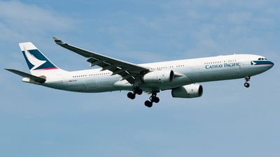 B-LAI - Airbus A330-342 - Cathay Pacific Airways