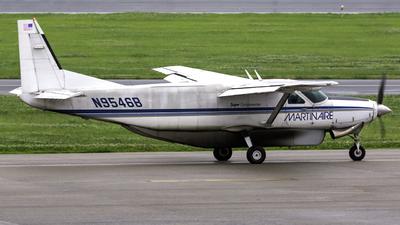 A picture of N9546B - Cessna 208B Super Cargomaster - Martinaire - © Connor Ochs