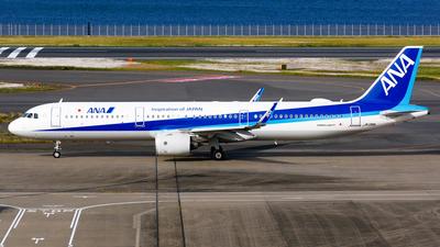 A picture of JA139A - Airbus A321272N - All Nippon Airways - © Shogo Kawai