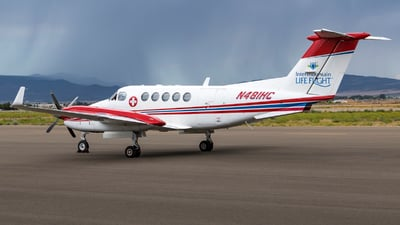 N481HC - Beechcraft 200 Super King Air - Intermountain Lifeflight