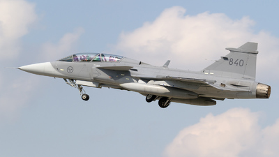 39840 - Saab JAS-39D Gripen - Sweden - Air Force