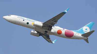A picture of B1551 - Boeing 73786X - 9 Air - © CrazyChan