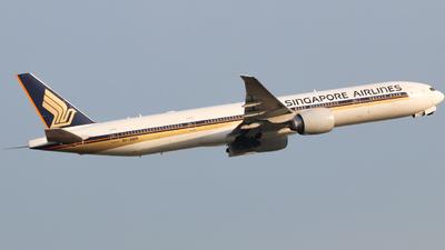 9V-SWR - Boeing 777-312ER - Singapore Airlines