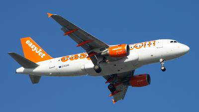 G-EZAG - Airbus A319-111 - easyJet
