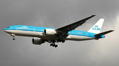 PH-BQK - Boeing 777-206(ER) - KLM Royal Dutch Airlines