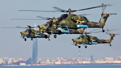 RF-13655 - Mil Mi-28N Havoc - Russia - Air Force