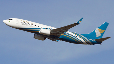 A picture of A4OBAH - Boeing 7378SH - Oman Air - © John Ballantyne