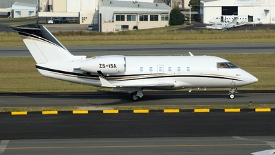 ZS-ISA - Canadair CL-600-1A11 Challenger 600S - Private