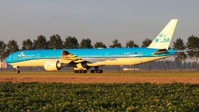 A picture of PHBVU - Boeing 777306(ER) - KLM - © Kees Marijs