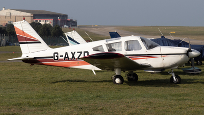 G-AXZD - Piper PA-28-180 Cherokee - Private