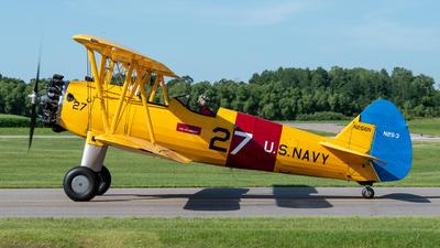 N266N - Boeing A-75N1 - Private