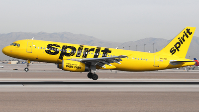 N617NK - Airbus A320-232 - Spirit Airlines