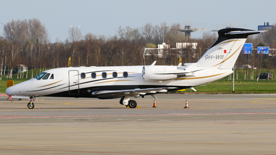 9H-WII - Cessna 650 Citation VII - Luxwing