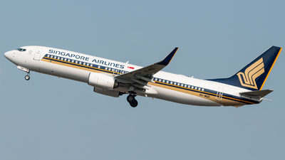 9V-MGD - Boeing 737-8SA - Singapore Airlines
