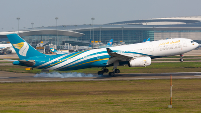 A picture of A4ODE - Airbus A330343 - Oman Air - © VWR36