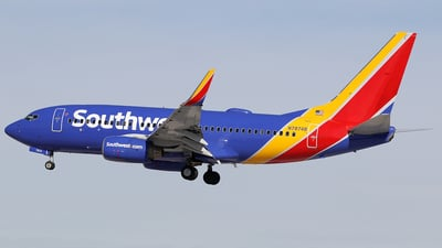 N7874B - Boeing 737-7Q8 - Southwest Airlines