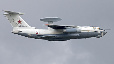 RF-50606 - Beriev A-50 Mainstay - Russia - Air Force