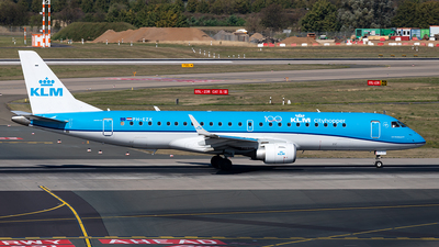 PH-EZK - Embraer 190-100STD - KLM Cityhopper