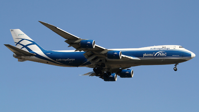A picture of VQBRH - Boeing 7478HV(F) - AirBridgeCargo Airlines - © M.T