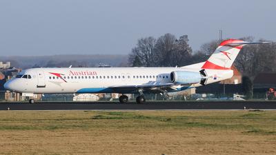 OE-LVK - Fokker 100 - Austrian Airlines
