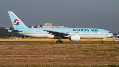 A picture of HL7575 - Boeing 7772B5(ER) - Korean Air - © KINCHAN