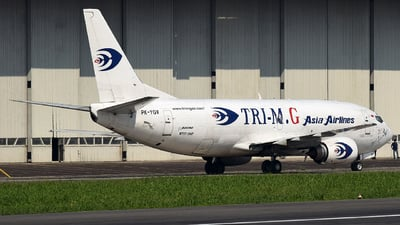 PK-YGV - Boeing 737-3G7(SF) - Tri-MG Intra Asia Airlines