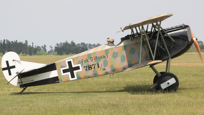 ZK-FOD - Fokker D.VII - Private