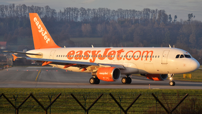 G-EZWF - Airbus A320-214 - easyJet