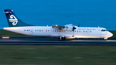 ZK-MCW - ATR 72-212A(500) - Air New Zealand Link (Mount Cook Airline)