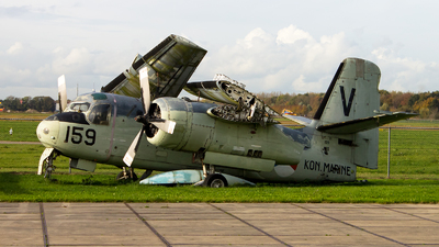 159 - Grumman US-2N Tracker - Netherlands - Navy